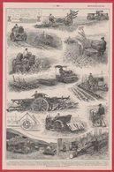 Motoculture. Agriculture. Illustration Maurice Dessertenne. Larousse 1920. - Vieux Papiers