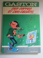 """GASTON """" Des Gaffes Et Des Dégâts """" Par Franquin  Tome 8  Éditeur : Dupuis - Gaston"""