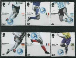 2006 Gran Bretagna, Mondiali Di Calcio Germania 2006 , Serie Completa Nuova (**) - Nuovi