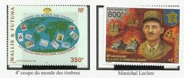 WALLIS ET FUTUNA PA N° 200 + 201 + 193 Neufs 1997 - General LECLERC - Poste Aérienne