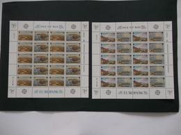 MAN Ile De Man   - Feuilles Completes    N° 302  / 305  Années 1986  CEPT Europa  Neuf XX    ( Voir Photo ) - Isle Of Man