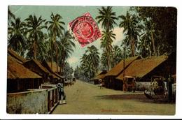 CPA - Carte Postale -Singapour Suburban - Police Station-1909- VM3261 - Singapore