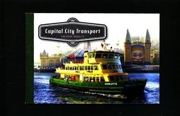 AUSTRALIA  - 2012  CAPITAL CITY TRANSPORT  PRESTIGE  BOOKLET  MINT NH - Libretti