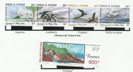 WALLIS ET FUTUNA PA N° 213 + 214 à 217 Neufs 1999 - OISEAU - Poste Aérienne