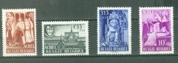 België 1948; Abdij Achel, OCB 773-776, Ongebruikt, Plakker. - Ongebruikt