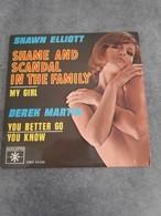 Disque De Shawn Elliott Et Derek Martin - Shame And Scandal In The Family - Roulette VREX 65036 - 1964 - - Soul - R&B