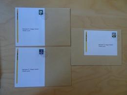 3 Retourenaufkleber Sieger Plusbrief Kreativ Gestempelt (10363) - [7] Federal Republic
