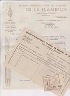 FACTURE STATION D ARBORICULTURE DE LA FLAMBELLE A TOULOUSE En 1945! - 1900 – 1949