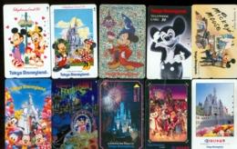 10 Télécartes Différentes DISNEY  (LOT 1)  10 DIFFERENT PHONECARDS DISNEY  * 10 VERSCHIEDENE TELEFONKARTEN DISNEY - Disney