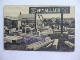 L. Maillard  Marbrier.  Ateliers De Fabrication.  Magasin à Laval. - Unclassified