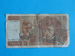 10 FRANCS BERLIOZ   B.1 - 7 - 1976 .B - 1871-1952 Anciens Francs Circulés Au XXème