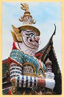 THAILAND GIANT GUARDIAN AT WAT PHRA KEO 1980 - Tailandia