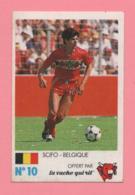Figurina Finale Au Parc Des Princes 8 Juin 1985 - La Vache Qui Rit N° 10 - Scifo - Belgique - Trading Cards