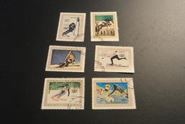 K20316 -set Used Guinea Ecuatorial   - Olympics Innsbruck 1976 - Winter 1976: Innsbruck