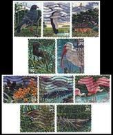 Etats-Unis / United States (Scott No.4099a-j - Marais De Floride / Florida Wetland) (o) Set - Oblitérés