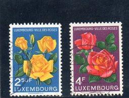 LUXEMBOURG 1956 O - Gebruikt