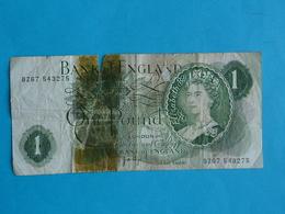1 POUND ENGLAND - 1952-… : Elizabeth II