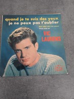 Disque De Vic Laurens - Quand Je Te Suis Des Yeux - Nercury 152.000 MCE - 1963 - - Rock