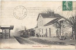 CPA Sucy-en-Brie La Gare - Sucy En Brie