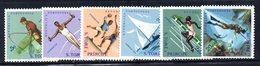 CI1394 - ST. THOMAS PRINCE 1962  ,  Yvert N. 377/380  ***  MNH - St. Thomas & Prince
