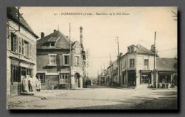 02 , BLERANCOURT , Carrefour De La Rue Neuve  (scan Recto-verso) FRCR00023 P - France
