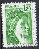 FRANCE N° 2101 O Y&T 1980 Sabine - 1977-81 Sabine Of Gandon