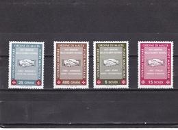 Orden De Malta Nº 552 Al 555 - Malta (la Orden De)