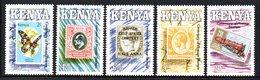 CI1397 - KENYA 1990  ,  Yvert N. 514/518  ***  MNH   (2380A) Stamps - Kenia (1963-...)