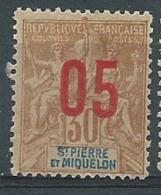 Saint Pierre Et Miquelon - Yvert N° 99 *    -  Po 62715 - Neufs