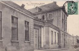 51. CHALONS SUR MARNE. CPA  ECOLE DES ARTS ET MÉTIERS. ANNEE 1908 - Châlons-sur-Marne