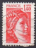 FRANCE N° 2102 O Y&T 1980 Sabine - 1977-81 Sabine Of Gandon