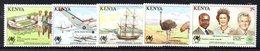 CI1398 - KENYA 1988  ,  Yvert N. 433/437  ***  MNH   (2380A) Expo Brisbane - Kenia (1963-...)