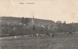 Redu  Panorama Coin Supérieur Gauche Un Peu Croqué Circulé En 1908 Plus De Timbre - Libin