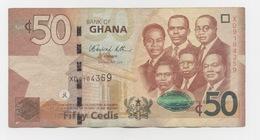 BILLET DU GHANA 50 CEDIS : FIFTY CEDIS  02/01/2012 - Ghana