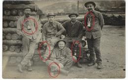 Minenarbeiter Lampe - Tamines  Belgie  -  Carte Photo    - Guerre 14-18 1.WK -WWI ? - Mines