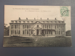 Cpa Moyencourt Le Château (S.-E.). 1907 - France