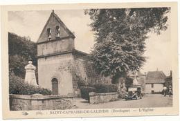 SAINT CAPRAISE DE LALINDE - L'Eglise - France