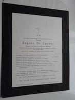 DB Eugene DE CAUWER ( Leonie Van Mieghem ) Beveren-Waas 6 Sept 1890 > 29 Jan 1963 ( Zie / Voir Photo ) ! - Overlijden