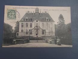Cpa Estouilly, Près Ham. Le Château. 1907, Belle Carte. - Ham