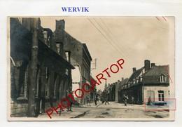 WERVIK-Wervicq-CARTE PHOTO Allemande-Guerre 14-18-1WK-BELGIQUE-BELGIEN-Flandern - Wervik