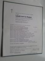DB Lodewijk Van MIEGHEM ( Anna Peersman ) Beveren-Waas 13 Aug 1892 > 8 Dec 1976 ( Zie / Voir Photo ) ! - Overlijden