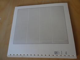 25 Lindner T Blätter 4er 802400 (10381) - Blank Pages