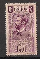 Gabon - 1932 - N°Yv. 134 - Savorgnan 40c - Neuf Luxe ** / MNH / Postfrisch - Gabon (1886-1936)