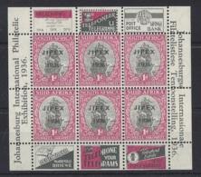 SOUTH AFRICA...KING GEORGE V.(1910-36)..SG M/S 570...1d X 6.....TIDY...MH.. - Afrique Du Sud (...-1961)