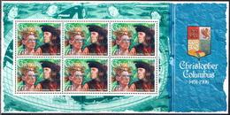 Gibraltar MNH Set Of 4 Sheetlets - Christopher Columbus