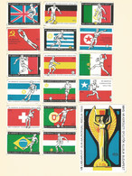 Hungary  Old Matchbox Labels Soccer - Boites D'allumettes - Etiquettes