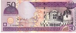 Dominican Republic  P.170c   50 Pesos 2004 Unc - Repubblica Dominicana