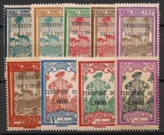 Inini - 1932 - Taxe TT N°Yv. 1 à 9 - Série Complète - Neuf GC ** / MNH / Postfrisch - Inini (1932-1947)