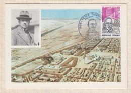 9/93 Premier Jour Carte Maximum TONY GARNIER LA CITE INDUSTRIELLE 1973 - FDC