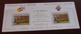 Cameroun - 1982 - Bloc Feuillet BF N°Yv. 19 - Football World Cup / Espana - Neuf Luxe ** / MNH / Postfrisch - Cameroon (1960-...)